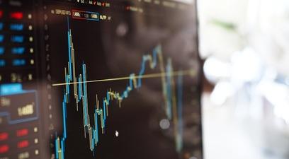 Finanza grafico investimento azioni