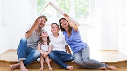 Casa famiglia abitazione genitori