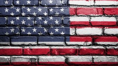 Usa statiuniti bandiera america