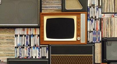 Televisione media comunicazione vintage