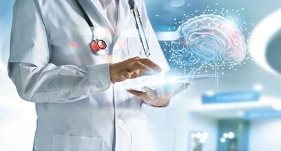 Medicina telemedica medico cervello