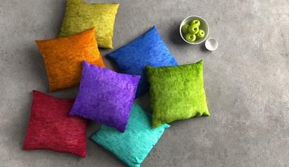 Cuscino colore benessere