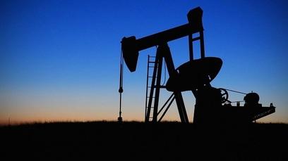 Petrolio pompa piattaforma