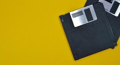 Floppy vintage tecnologia