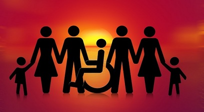Disabile famiglia