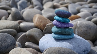Equilibrio natura pietra