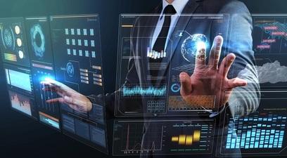 Hightech tecnologia futuro schermo