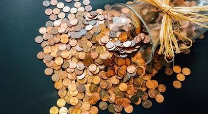 Monete soldi risparmio