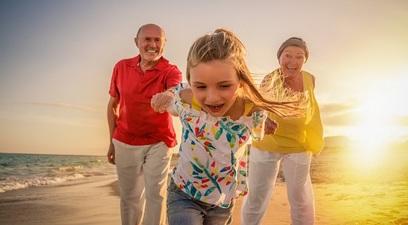 Previdenza nonni anziani famiglia
