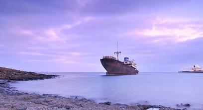 Petroliera mare sinistro nave