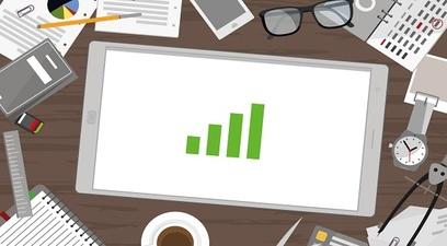 Crescita business impresa grafico