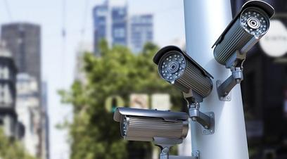 Controllo telecamera sicurezza