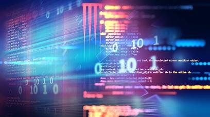 Tecnologia innovazione schermo numeri