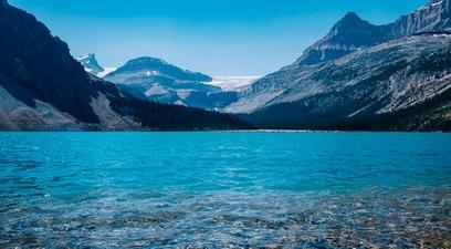 Acqua idrica montagna lago