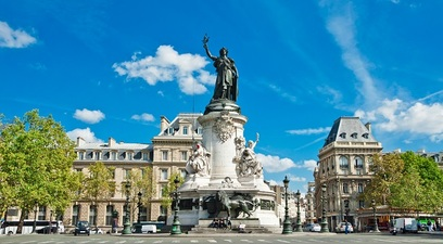 Francia placedelarepublique