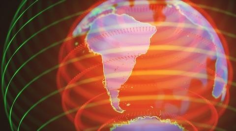 Globo mondo interconnessione