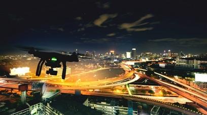 Drone notte