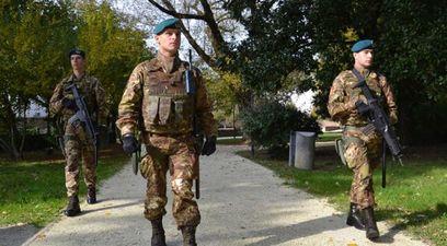 Esercito polizia terrorismo sicurezza
