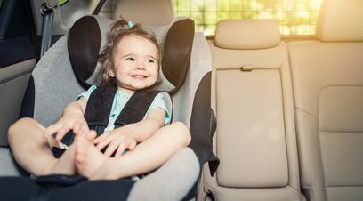 Un avviso per non lasciare il bimbo in auto