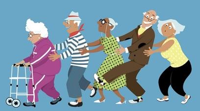 In italia diminuiscono gli anziani 7 milioni in meno