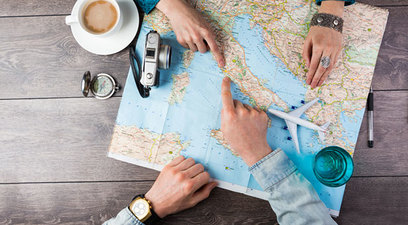 Viaggi protetti per i clienti futura vacanze