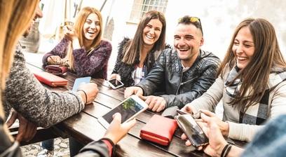 Giovani drogati di tecnologia