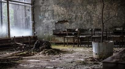 Un incendio a cernobyl ha tenuto kiev con il fiato sospeso