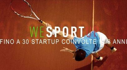 Wesportup  cdp venture capital  sport e salute  startupbootcamp
